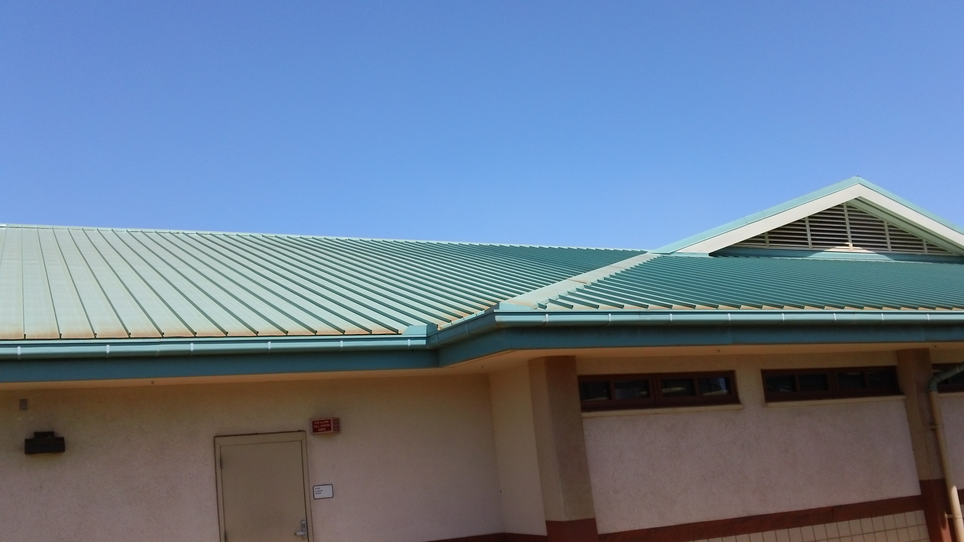 Puunene Readiness Center Building Roof and Gutter Repair and